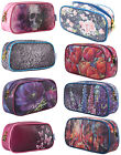 TaylorHe Make-up Bag Cosmetic Case Toiletry Bag Printed PVC Zipped Top