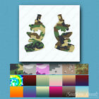 Pair of Microscopes - Vinyl Decal Sticker - Multiple Patterns & Sizes - ebn452