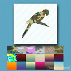 Macaw Parrot - Vinyl Decal Sticker - Multiple Patterns & Sizes - ebn441
