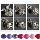Silver Openable Mexican Bola Bell Harmony Ball Angel Caller Locket Pendant