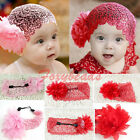 Lace Flower Headband Cute Baby Child Girl Soft Elastic Hairband