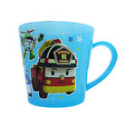 Robocar Poli Plastic Drinking Cup with Handle 2 Colors Blue Yellow Children Cup
