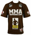 MMA Gear Zelg Galesic T-Shirt - Brown