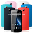 4.5'' DOOGEE X3 3G Smartphone GPS Android5.1 Dual SIM Quad Core Mobile Phone 8GB