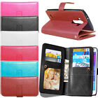 Brass Buttons Wallet Flip Leather 9 Card Slot Stand Soft Skin Soft Case Cover