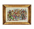 GAME CHARACTERS Dictionary Print Picture Poster Wall Art Playstation Nintendo