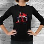 New Star Wars Darth Vader Empire fan geek Women Dark Black Long Sleeve T-Shirt