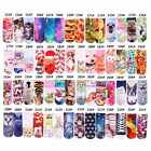 56 styles 3D Printed Charms Low Cut Cat Dog Pork Ankle Cotton Socks Unisex