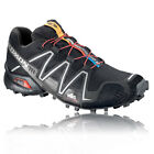 Salomon Mens Speedcross 3 Black Outdoor Trail Running Sport Trainers Pumps Shoes