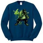 FELPA GIROCOLLO CREWNECK HOODIE INCREDIBLE HULK BRUCE BANNER COMIC MARVEL