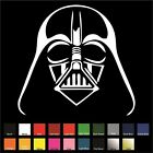 Darth Vader Sticker / Decal - Choose Color & Size - Star Wars Sith Lord Force $3.99 USD on eBay