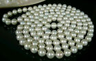 Natural 9-10mm AA+ pearl necklace 80''(5 color choose)jewelry