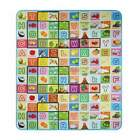 Multi-colored Baby Playing Mat Waterproof Nontoxic Semi-transparent PVC WST