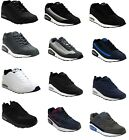 MENS RUNNING JOGGING LACE SHOCK ABSORBING GYM WALKING BOYS TRAINERS SPORTS SHOES