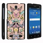 FOR SAMSUNG GALAXY PHONES CASE RUGGED ARMOR HYBRID HOLSTER Butterfly Symmetry