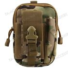 All In One Army Style Sport Case Belt Loop Hook Purse Pouch For Various Phones