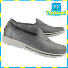Skechers 13820 Go Walk Womens Casuals slip on shoes - ALL SIZES UNTAMED SILVER