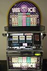 """IGT S2000 COINLESS SLOT MACHINE """"WHITE ICE"""" GREAT SHAPE"""