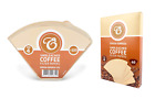 Coffee Filters Size 4 Papers Unbleached Brown Replacement for Machine Maker
