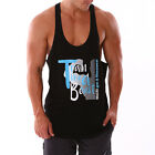 New Mens RACERBACK Lifting Gym Training Singlet Weight Bodybuilding Stringer