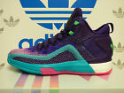 NEW ADIDAS J Wall Primeknit Boost 2.0 Men's Basketball shoes - Purp/Teal; D70028