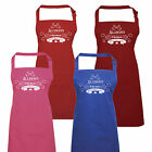 Personalised Ladies Baked With Love Apron by Inspired Creative Design