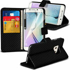 Leather Book Wallet Phone Case Cover+Film for Samsung