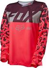 Fox Racing 2016 Womens Demo DH Long Sleeve L/S Jersey Neo Red
