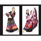 25 Yard Belly Dance Chiffon Gypsy Tribal Chiffon Butterfly Costume Dress Skirt