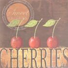 "KM5521 Sweet Cherries Kathy Middlebrook 6""x6"" framed or unframed print art"