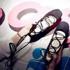 Womens Mid Heel Chunky Block Pumps Lace UP Ankle Strap Summer Suede casual Shoes
