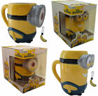 Minions / Despicable Me: Stuart / Kevin Shaped Mug With Scented Charm New In Box