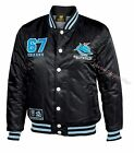 Cronulla Sharks 2016 Mens Baseball Jacket 'Select Size' S-5XL BNWT