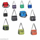 Lunch Bag Cooler Insulated Expandable Waterproof Thermal Shoulder Picnic Tote
