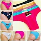 6 Long leg TANGAS Bikini Panties Lazer Cut No SHOW UNDIES Underwear 148 S-XL