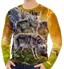 Wolves In The Valley Men's Long Sleeve T-Shirts S M L XL 2XL 3XL