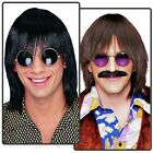 Deluxe 70s Wig Adult Mens Sonny Bono Halloween Costume Accessory