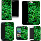case fits apple iphone 4 4s 5 5s 5c - silicone green clover