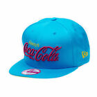 New Era Coca Cola Always Womens Turquoise 9FIFTY Snapback Cap