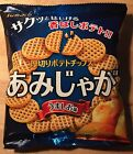 "Tohato, ""Amijaga"", Grid Shaped Potato Snack, Crispy, Salt flavor, 1 pack, 60g"