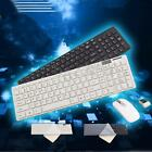 2.4G Optical USB Wireless Keyboard Cordless Mouse Mice Combo Set w/Cover for PC