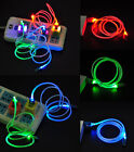 Micro USB LED Visible Light Cable Cord Charge Data Sync for Android Cell Phone