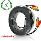 BNC Cable Video DC RCA Lead For DVR CCTV Camera System 5/10/15/20/30/40/50M