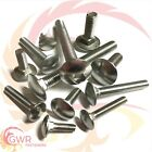 M5 A2 Stainless Steel - Carriage Bolts - Coach Bolts - Cup Square Coach Screws