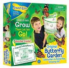 INSECT LORE KIDS LIVE BUTTERFLY GARDEN HATCHING KIT- GROWS 5 CATERPILLARS