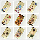 Fairy Tail Anime Manga iPhone 4s 5s SE 5c 6s 7 Plus Case Silicone TPU Free Ship