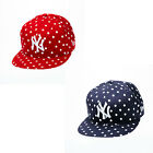 New Era Spotted Spring Polka Dot New York Yankees Womens 9FIFTY Snapback Cap