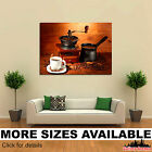 Wall Art Canvas Picture Print - Drinks Coffee Grain Cup Food 3.2