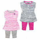 Converse All Star Toddler Girls Stripe Dress & Legging Set