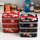 New cherry blossoms Bento / Japanese Box Lunch Container / 3 Layers